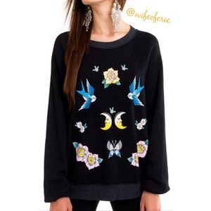 Wildfox Midnight Dreams Sommers Sweater L